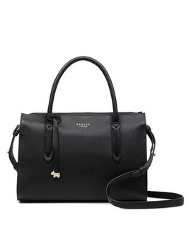 Radley   Black Leather 'arlington Court' Multiway Bag by Radley