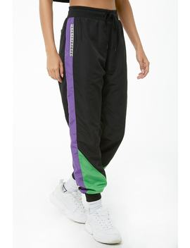 Colorblock Wind Pants by Forever 21