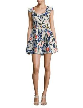 Alana Floral Printed Dress by Astr The Label
