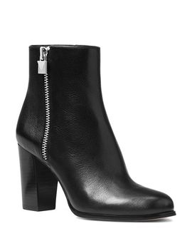 Women's Margaret Leather High Heel Booties by Michael Michael Kors