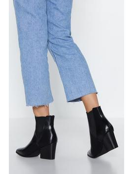Point Taken Chelsea Boot by Nasty Gal