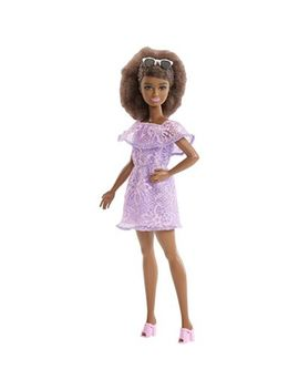 Barbie   Fashionistas Petite Purple Lace Romper Doll by Barbie