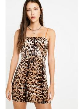 Uo Colette Leopard Print Dress by Urban Outfitters