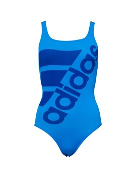 Adidas Womens Graphic Performance Swimsuit Shock Blue/Collegiate Royal by Mand M Direct