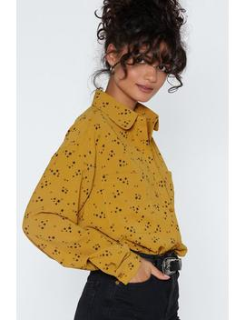 Movie Star Oversized Shirt by Nasty Gal