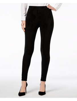 I.N.C. Faux Suede Leggings, Created For Macy's by Inc International Concepts