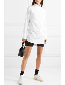 Nelly Ruffle Trimmed Cotton Poplin Top by Cecilie Bahnsen