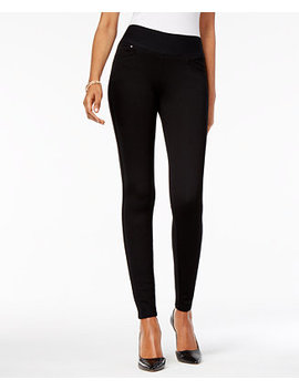 Mid Rise Ponté Knit Leggings, Created For Macy's by Style & Co