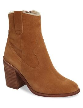 Guinn Faux Shearling Lined Bootie by Jeffrey Campbell