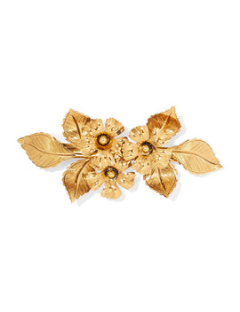 Gold Tone Hairclip by Jennifer Behr