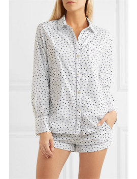 Emily Printed Cotton Voile Pajama Set by Three J Nyc