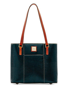 Lizard Embossed Small Lexington Tote, Created For Macy's by Dooney & Bourke