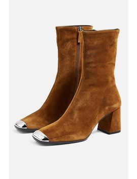 Maxwell Suede Ankle Boots by Topshop
