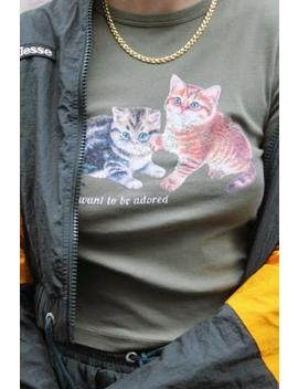 Uo Kittens Baby T Shirt by Urban Outfitters