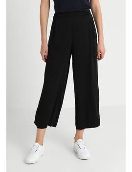 Pants Medium Rise Wide Leg Ankle   Trousers by Marc O'polo