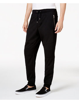 I.N.C. Men's Moto Knit Jogger Pants, Created For Macy's by Inc International Concepts