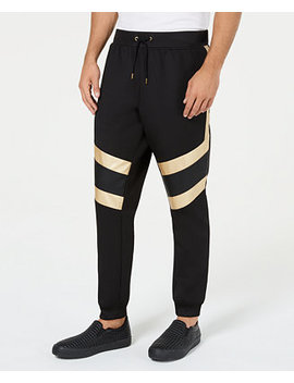 I.N.C. Men's Gold Trim Jogger Pants, Created For Macy's by Inc International Concepts