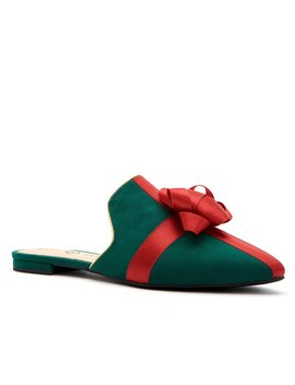 the-stephanie-bow-present-microsuede-mules by katy-perry
