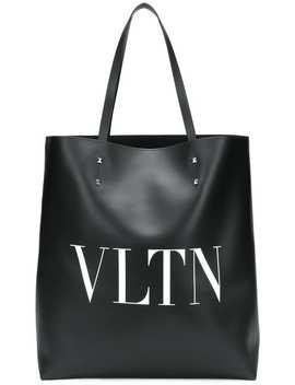 Valentino Garavani Vltn Calfskin Tote Bag by Valentino