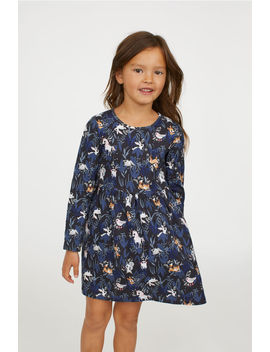 Printed Jersey Dress by H&M