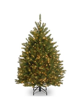The Holiday Aisle 4' Green Fir Artificial Christmas Tree With 200 Clear Lights & Reviews by The Holiday Aisle