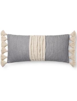 Storie Lumbar Pillow, Chambray by Lulu & Georgia