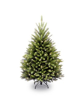 Laurel Foundry Modern Farmhouse Fir 4.5' Hinged Green Artificial Christmas Tree With 450 Clear Lights & Reviews by Laurel Foundry Modern Farmhouse