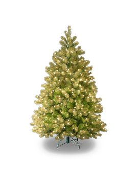 """The Holiday Aisle Downswept Douglas 4.5"""" Green Fir Artificial Christmas Tree With 450 Clear Lights And Stand & Reviews by The Holiday Aisle"""