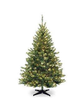 Ebern Designs 6' Green Spruce Trees Artificial Christmas Tree With 400 Incandescent Clear/White Lights & Reviews by Ebern Designs