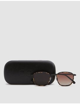 Boris Sunglasses In Tortoise Black by Komono