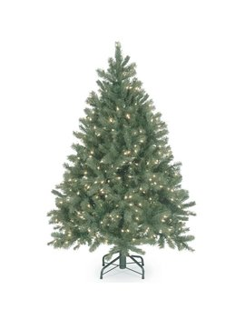 The Holiday Aisle Downswept Douglas Green Fir Artificial Christmas Tree With Clear Lights With Stand & Reviews by The Holiday Aisle