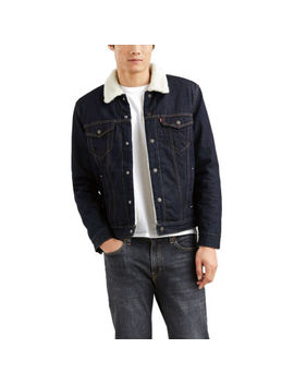 Levi's® Long Sleeve Sherpa Trucker by Levi