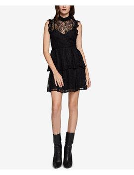 Ruffled Lace Dress by Bcb Generation