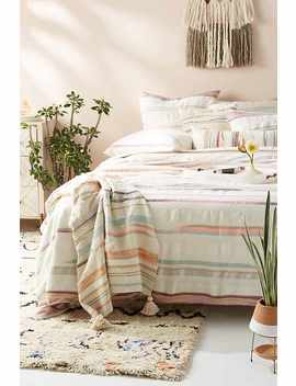 Jess Feury Woven Sunstreak Duvet Cover by Jess Feury