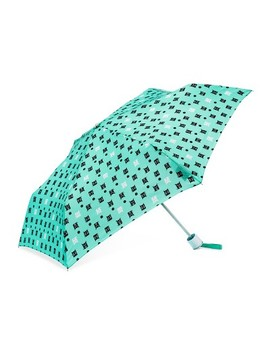 Cirra By Shed Rain® Cats And Dogs Compact Umbrella   Light Mint by Cirra By Shed Rain