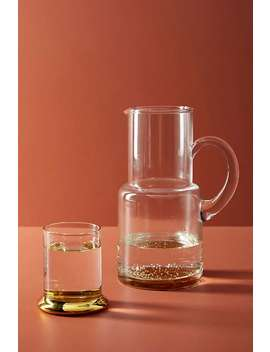 Marlo Pitcher + Glass Set by Anthropologie