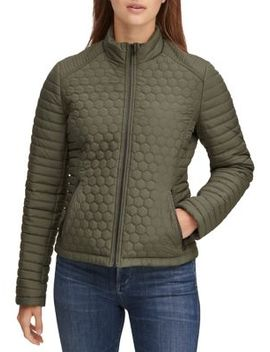 Linden Quilted Zip Jacket by Marc New York