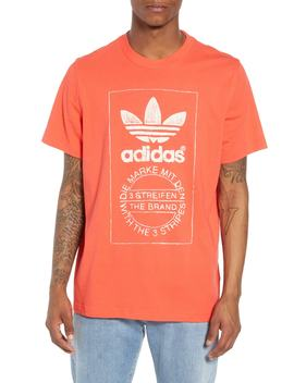 Hand Drawn Logo T Shirt by Adidas Originals