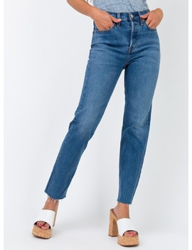 Levi's Wedgie Straight Jean Love Triangle by Levi's