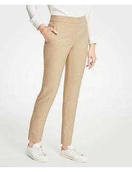 Petite Elastic Back Ankle Pants by Ann Taylor