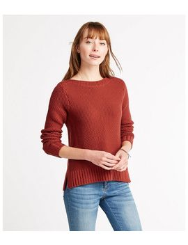 Signature Washable Merino Boatneck Sweater by L.L.Bean
