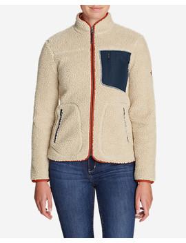 Women's Rangefinder Sherpa Jacket by Eddie Bauer