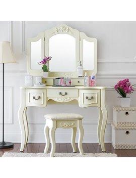 Astoria Grand Benson Vanity Set With Mirror & Reviews by Astoria Grand