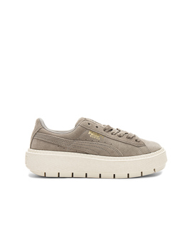 Suede Platform Trace Sneaker by Puma
