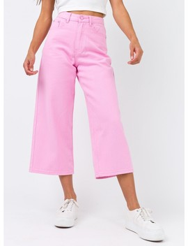 Lazy Oaf Lo Wide Leg Jeans by Lazy Oaf