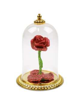 Beauty And The Beast Jeweled Enchanted Rose By Arribas   Limited Edition by Disney