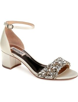 Vega Crystal Embellished Sandal by Badgley Mischka