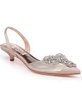 Vera Embellished Pump by Badgley Mischka