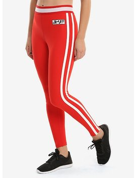 Yuri!!! On Ice Red Active Pants by Hot Topic