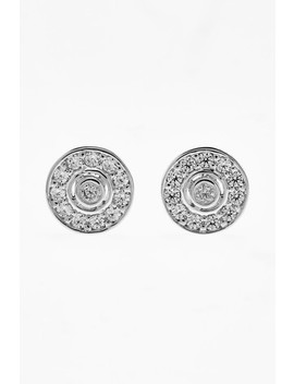 Jewelled Disc Stud Earrings by Next